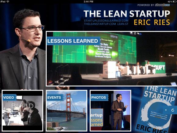 ipadss App Spotlight: The Lean Startup