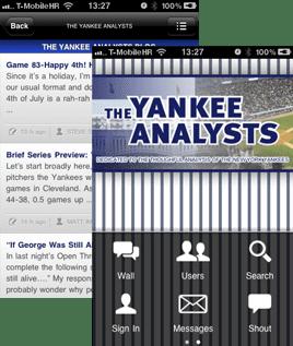 tyafeatured App Spotlight: The Yankee Analysts