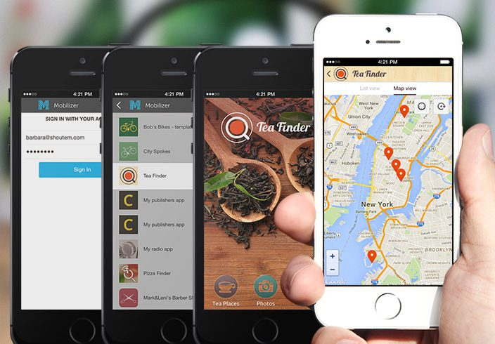 build location based app