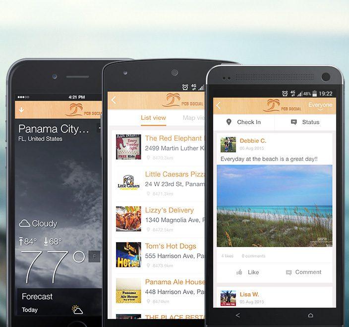 PCB Social app