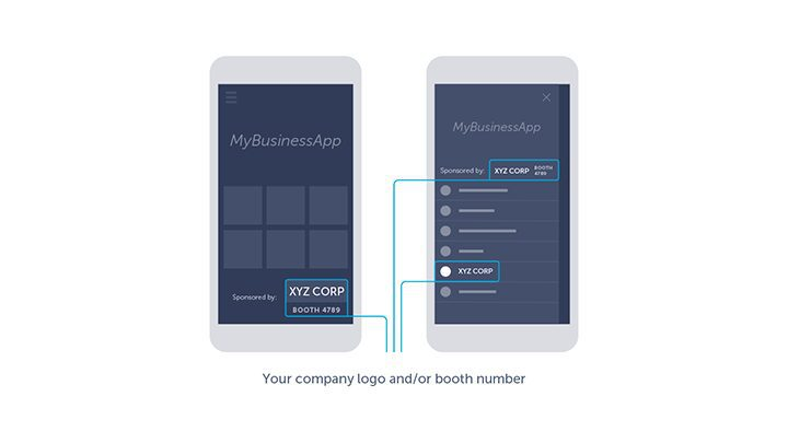 Example of sponsorship and partnership in mobile app advertising