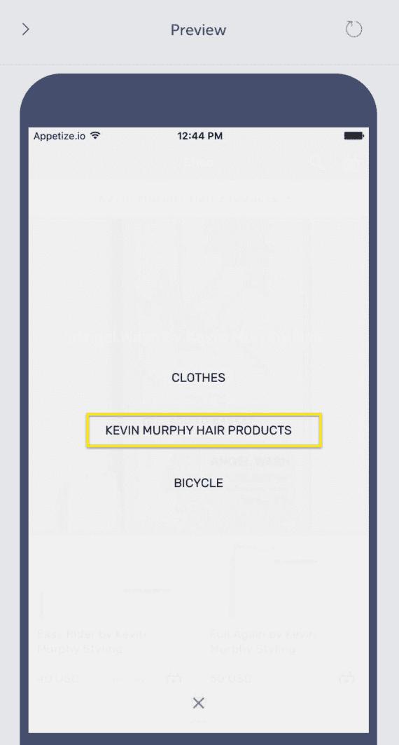 Shopify integration – Shoutem