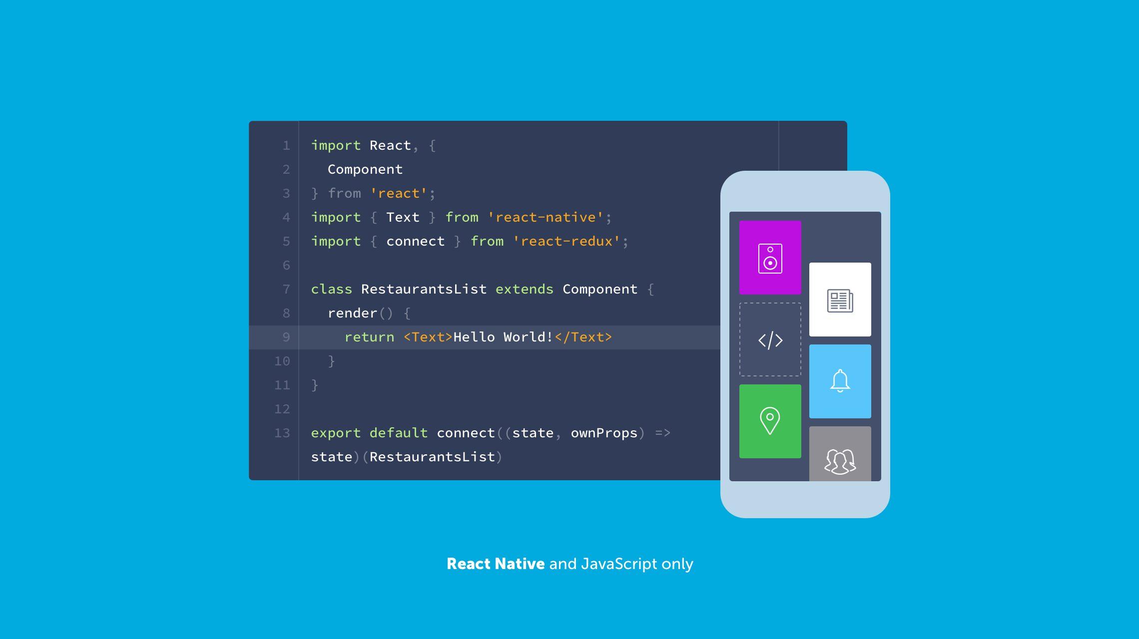 React Native and Javascript