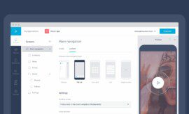 build an app with Shoutem