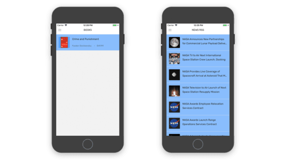 app placeholders