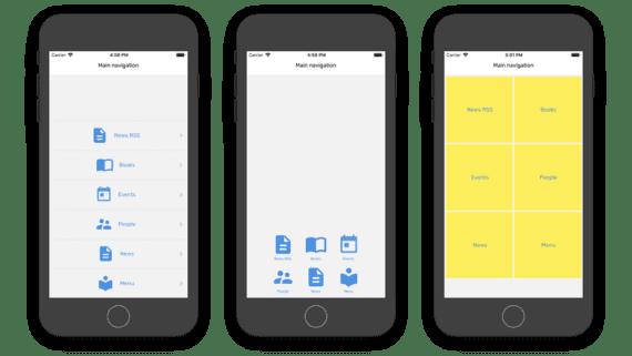 app icon color