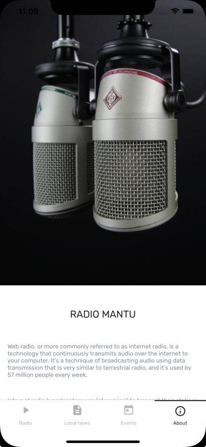 radio mobile app