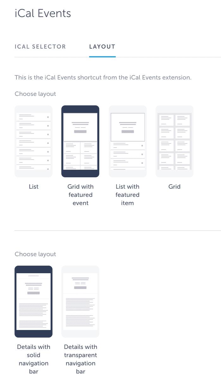 ical layout design app
