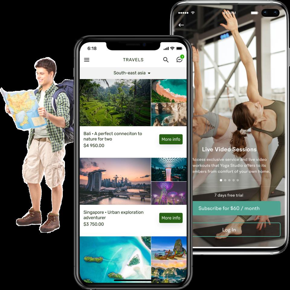 touristic app