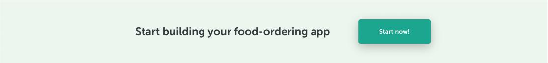 make restaurant app