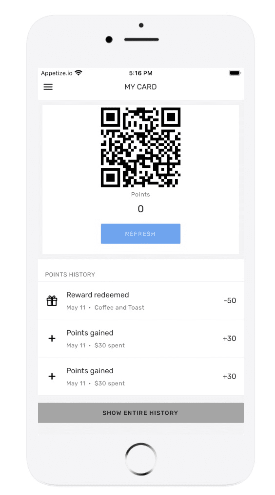 mycard scan qr