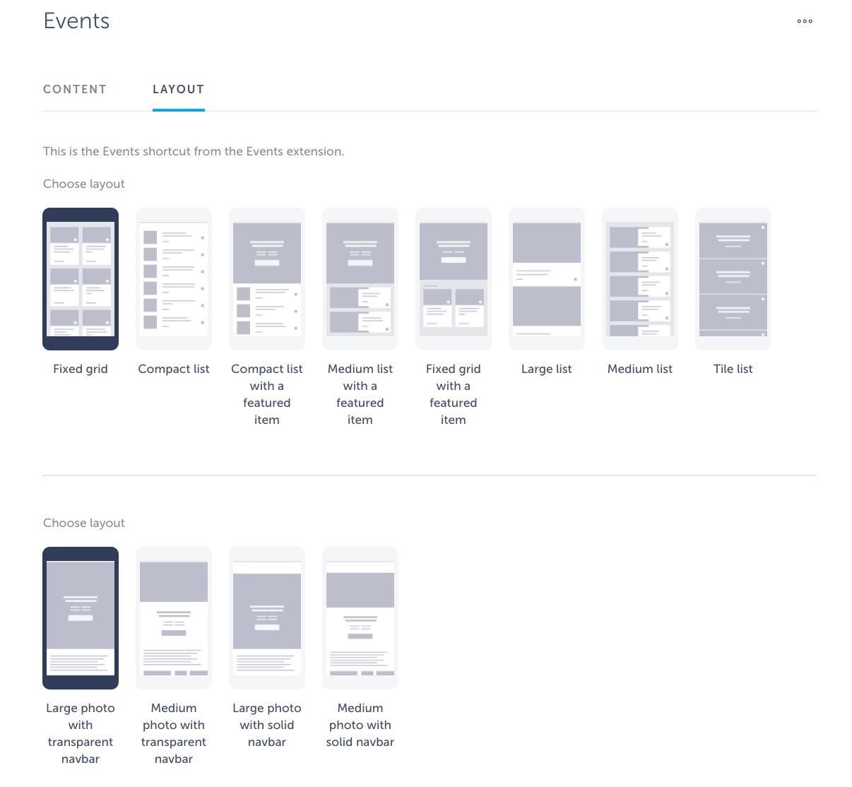 event layout app