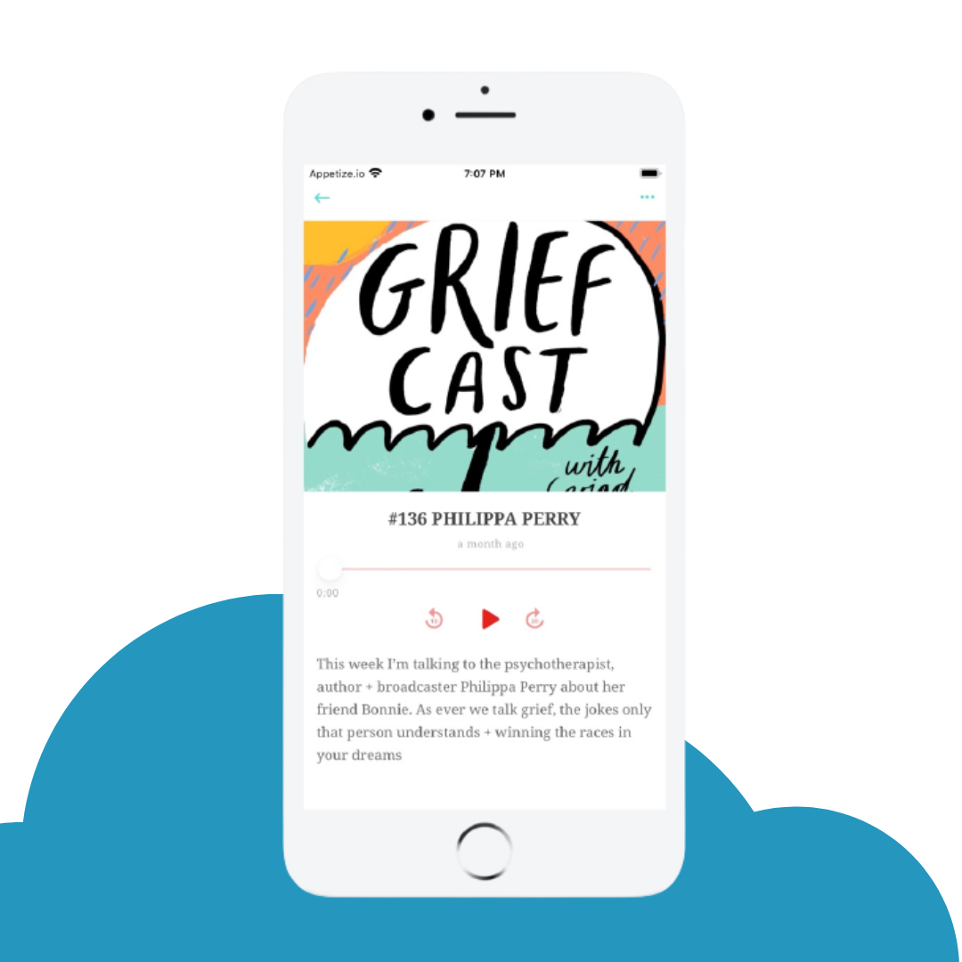 podcast feature in app