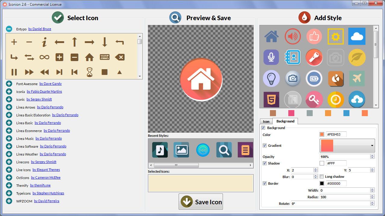 iconion design