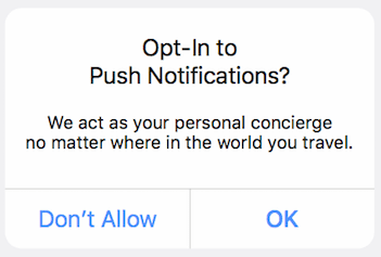 opt-in push notifications