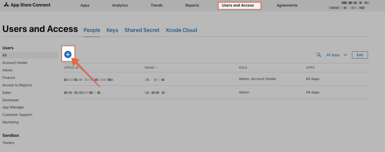 iOS Dev account settup