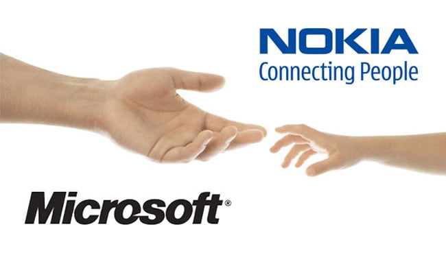 nokia store and microsoft partnership