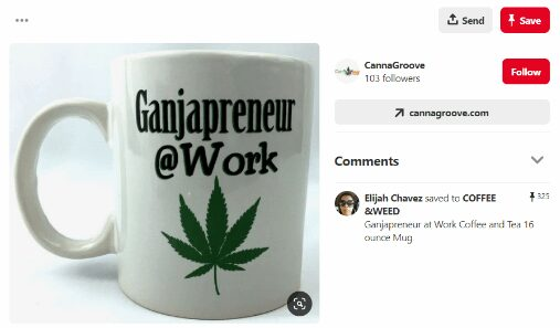 advertise cannabis product