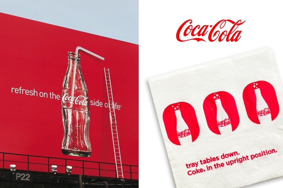 coca cola advertisement